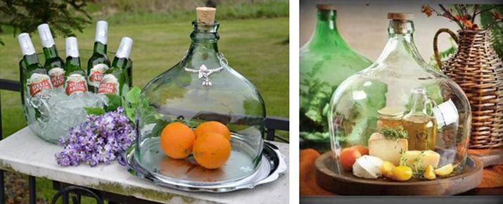 de cristal jarrones damajuanas que todo sea cristal verde y algo floral o velassolo con tres materiales vuestra boda puede ser de ensueo - Jarrones De Cristal