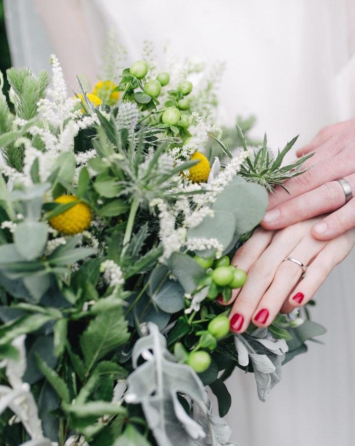 ramos de novia para bodas en otoño
