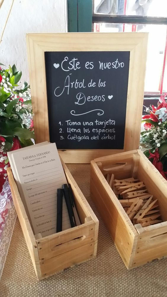 arbol de los deseos para bodas