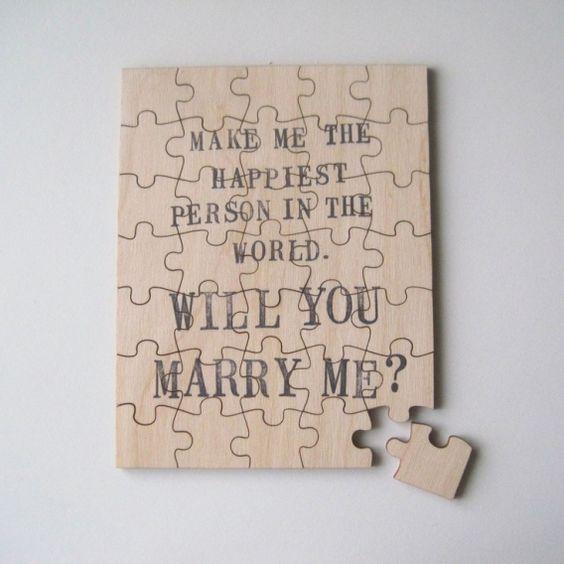 Pedidas originales y románticas