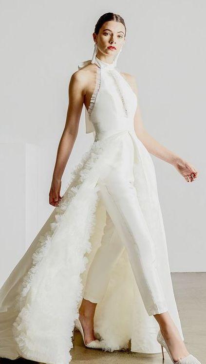 4769ff359 vestidos de novia para bodas en verano Plumas