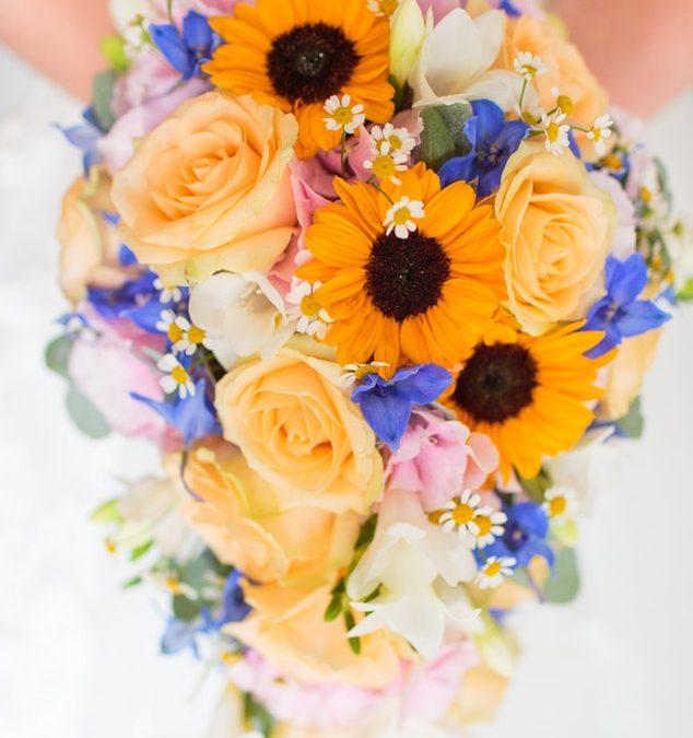 Ramos de novia para bodas en verano