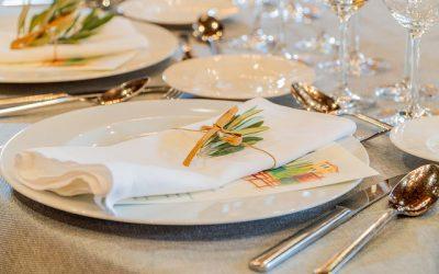Protocolo en la mesa en bodas y eventos