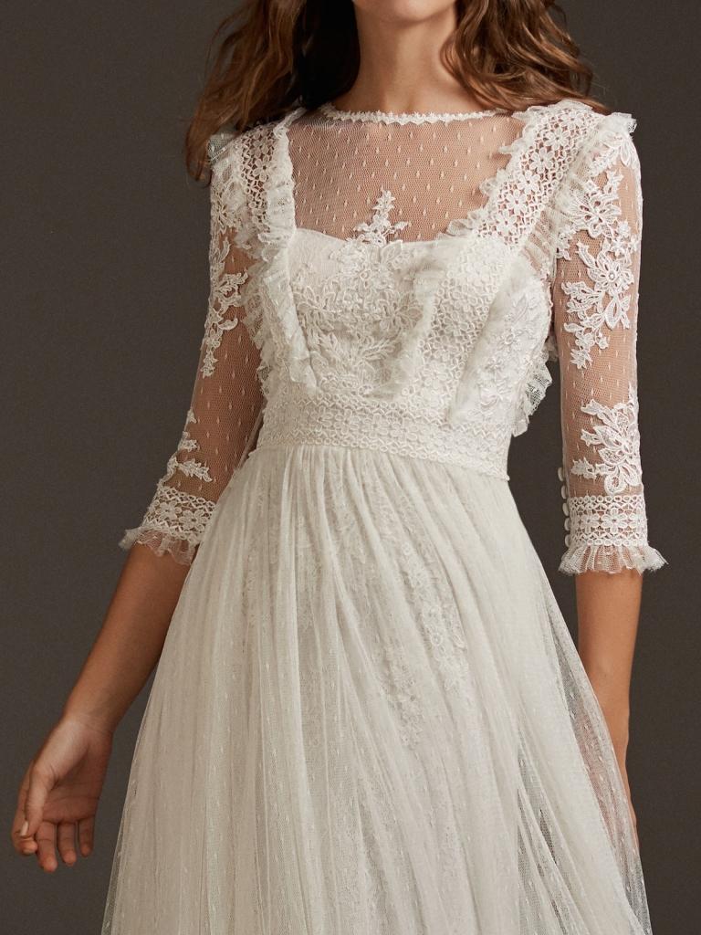 Vestidos de novia para boda al aire libre