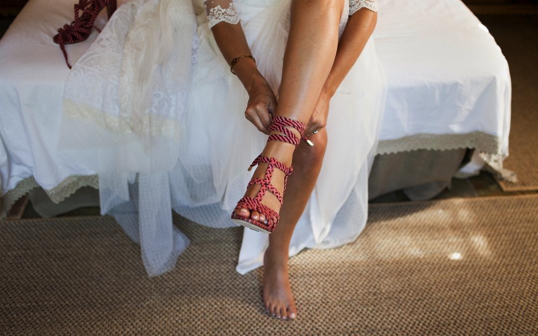 Consejos para elegir los zapatos de novia