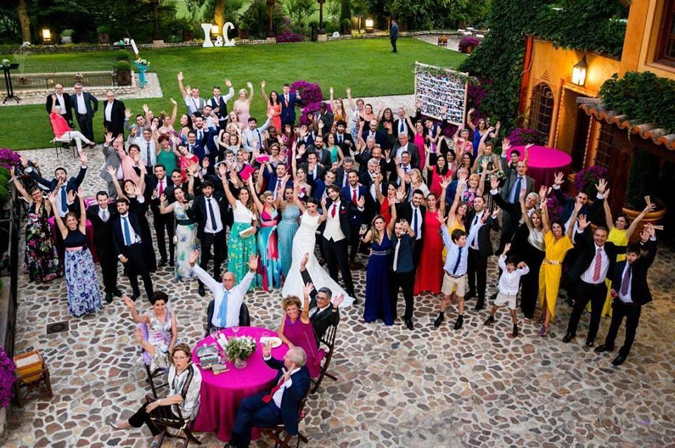 ¿Cómo colocar a los invitados en una boda?