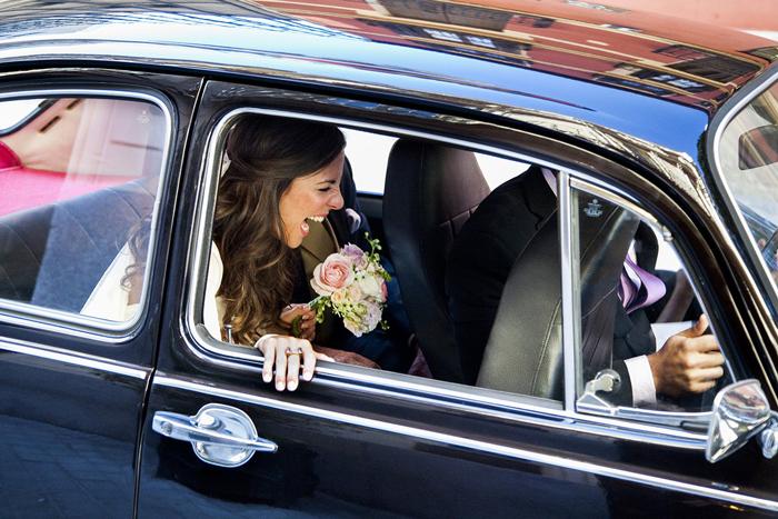 El coche de tu boda para que todo vaya sobre ruedas