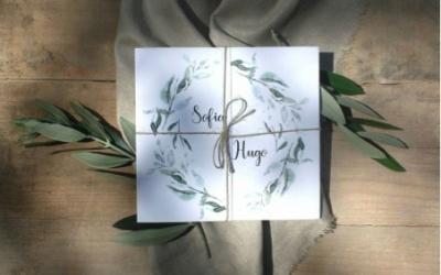 Las invitaciones de boda que (sí) querrás guardar