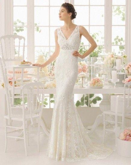 tendencia vestido novia brillo